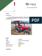 17 Cotizacion Tractor MAHINDRA 8000 - Ceramicos Peruanos SA