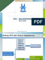PKM GT Dan AI Panduan 2016 Untuk ITK