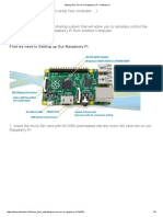 Setting SSH and VNC Server in Raspberry Pi
