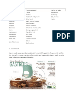 Gastitis Foods to Eat