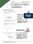 III BIM - 2do. Año - Guía 4 - Factorización IV