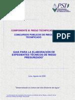 Guia de elaboracion para expedientes tecnicos del riego presurizado.pdf
