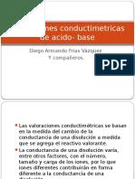Valoraciones Conductimetricas de Acido- Base