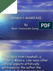 Rangas Marriage class 11