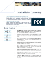 Market Commentary 3/6