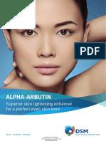 Alpha Arbutin Brochure