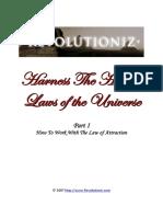 2 - Revolutioniz - Harness the Hidden Laws of the Universe - Part 1