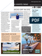 Business Events News for Mon 19 Sep 2016 - Luxperience, Star Entertainment Group, David Grant Creativity Project, Sydney Exhibition Centre, Parkroyal Parramatta AMPERSAND more