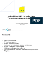 In Building DAS Introduction, Troubleshooting & Guidelines