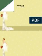 plantilla novia
