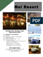 Zoe Mei Resort Info Sheet