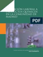 Exposición laboral a productos químicos en la comunidad de Madrid