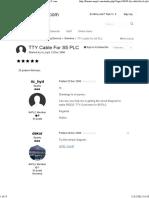 TTY Cable for S5 PLC - Siemens - Forums.mrplC