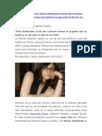 Alejandra Castillo Entrevista
