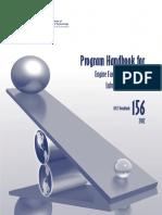 Program Handbook for Laboratories