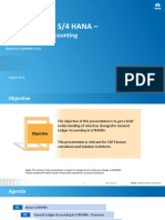 SAP S4 HANA Finance - GL Accounting - V 2.0