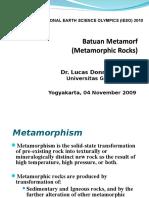 7.Petrology Metamorphicrocks