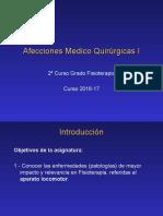 Afecciones Médico Quirúrgicas