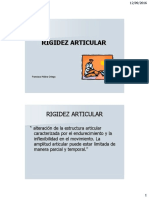 Fisioterapia Ante La Rigidez Articular