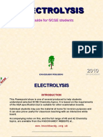 ELECTROLYSIS.pps