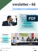 64 ICSI Mysore E-Newsletter May 2009