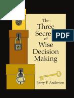 Secrets Decisions