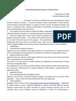 Pro Pfp Guideline