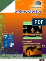 71 ICSI Mysore eNewsletter December 2009