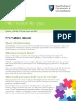 Pi Premature Labour