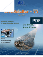 75 ICSI Mysore eNewsletter April 2010
