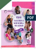 IGUALDAD | Talleres y Servicios de Igualdad 2016/2017 Coslada