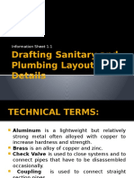 Drafting Sanitary and Plumbing Layout and Details