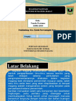 ujian magang Prodi Geografi FIS UNP