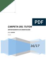 Carpeta Tutor 2016-17