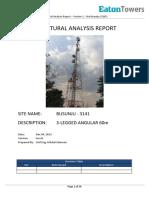 Busunju - Site (3141)- Structural Analysis Report 1 of 2 - Version 1