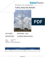 Site 3143- Structural Analysis Report 1 of 2 - Version 1
