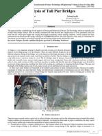 Analysis of Tall Pier Bridges