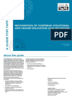 Oveseas Voc and Higher Ed Quals - Second Edition 2009