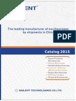 Siglent Catalog 2015