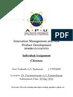 IMNPD Assignment