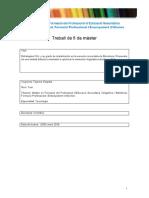 Estrategias CLIL y su grado de implantación en la escuela concertada del Barcelonés
