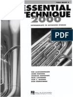 Essential Technique - Tuba