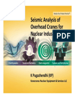 Seismic Analysis of Overhead Cranes - Kine Cranes