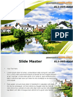 Download Village Life PowerPoint Templates and Backgrounds