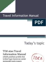 Travel Information Manual