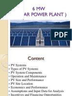 6 MW Power Plant