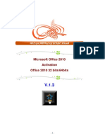 Activation Office2010 v1.3