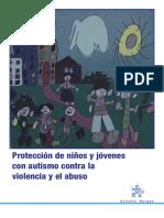 Protección de niños con tea violencia y abuso