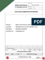 Non Destructive Examination Procedure