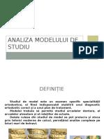 Analiza Modelului de Studiu